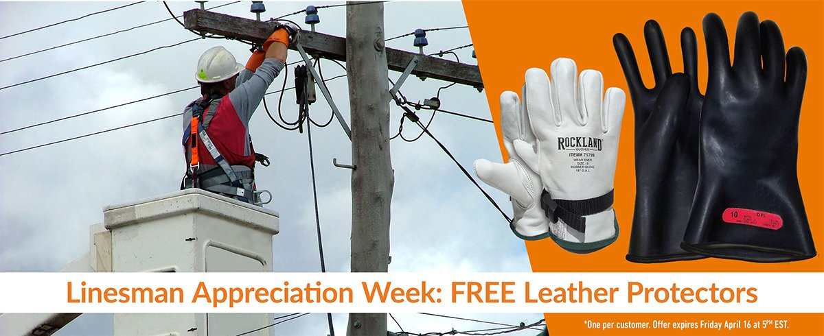Free leather protector with the purchase of any LinePro glove